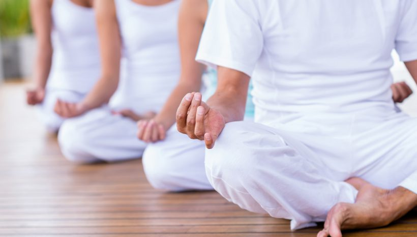 Yoga und Meditation für zu Hause